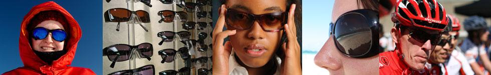 Sunglasses montage